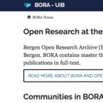 قاعدة بيانات University of Bergen للدراسات و الأطروحات المجانية PDF