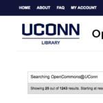 المستودع العلمي للرسائل الجامعية UConn  مجانا.