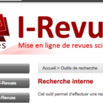 I-Revues قاعدة متخصصة في العلوم كتب مجلات و مذكرات مجانية
