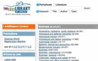 The Free Library مكتبة الكترونية شاملة 32 مليون كتاب ومقال علمي.
