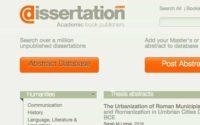 مستودع Dissertation لتحميل الاطروحات والكتب المجانية