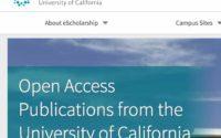 مستودع eScholarship University of California لتحميل الكتب والدراسات